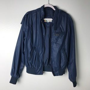 Members Only Blue Vintage Unisex Jacket